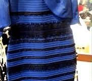 ¿Blanco y dorado o azul y negro?