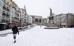 La nieve cubre España