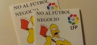 No al fútbol negocio