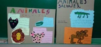 Trabajo sobre los animales.