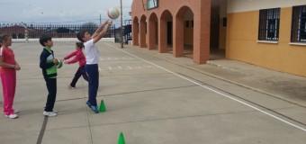 El baloncesto en nuestra escuela.
