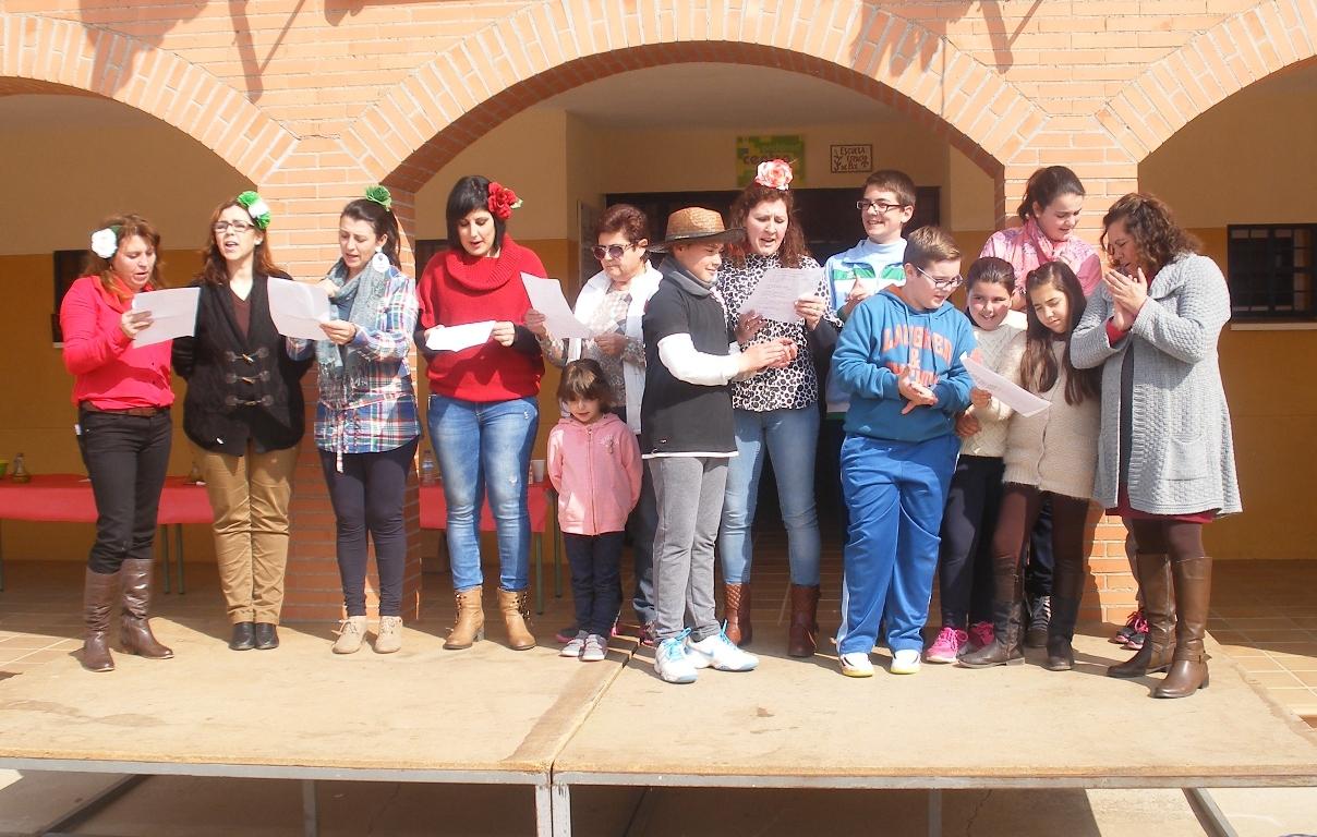 El día de Andalucía en el colegio.