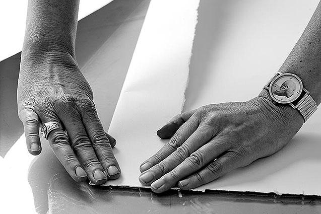 Unas manos prodigiosas permiten crear  estas obras artísticas.