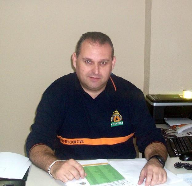 Antonio Villalobos, jefe de la Primera Unidad de Marbella, durante la entrevista.