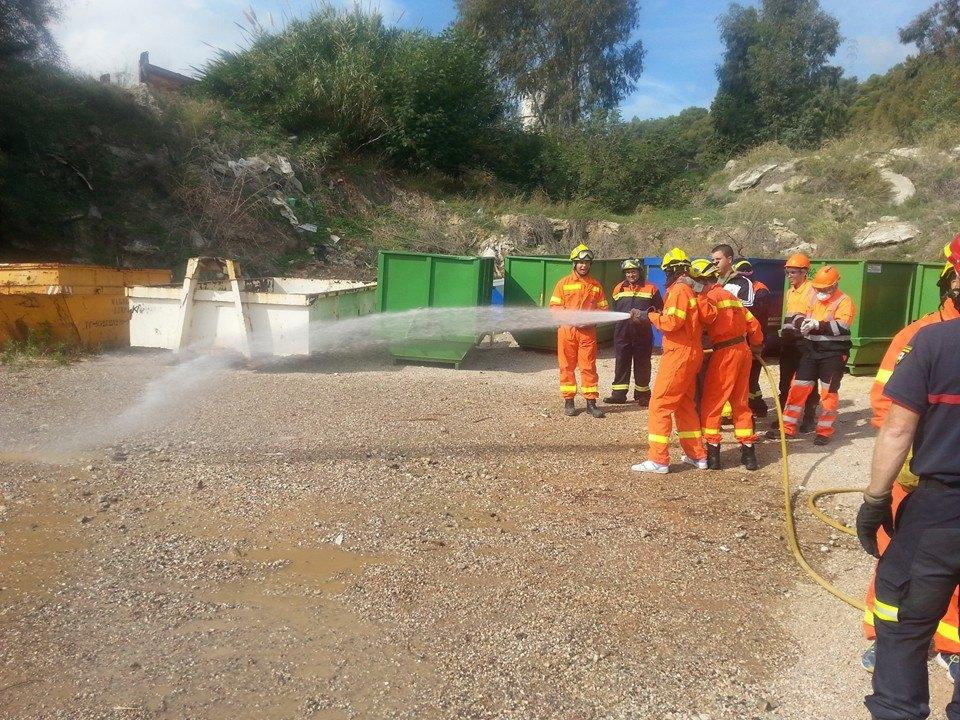 La actuación de Protección Civil en caso de incendios es de gran importancia.