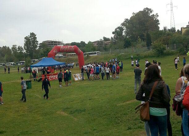 Más de 600 participantes en el Cross Escolar de Marbella.