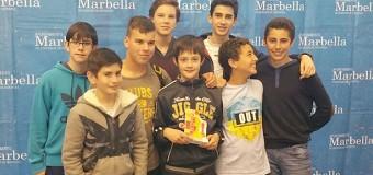 José Ángel Gálvez, del IES Vega de Mar, subcampeón del Torneo de Ajedrez de Marbella