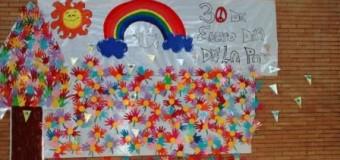 Estamos celebrando el Día de la Paz