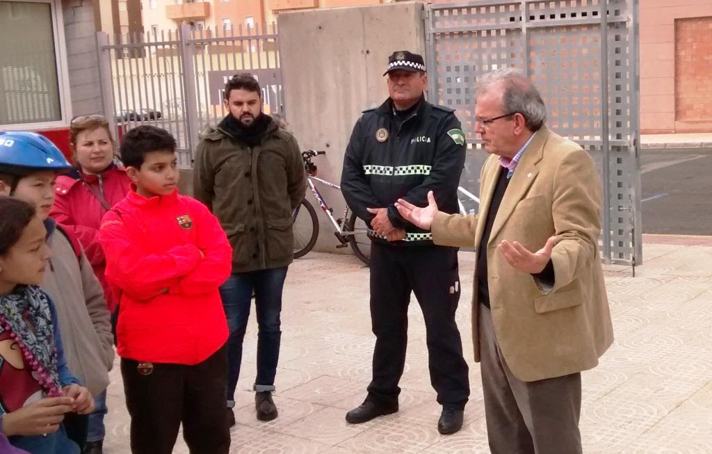 Recepción por Antonio Bonilla. Alcalde de Vícar.