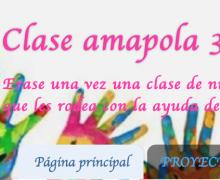 Este es el blog de la clase amapola. Infantil 3 años.