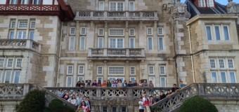 Viaje de Estudios 6º. Visita al Palacio de la Magdalena.