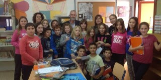 Nos visita el escritor Antonio Gómez Yebra