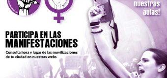 Huelga el 14 noviembre contra el sexismo en las aulas