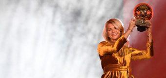 La noruega Hegerberg gana primer Balón de Oro femenino de la historia