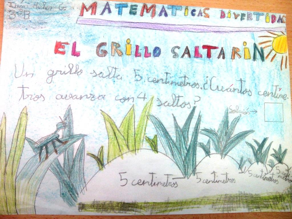 MATEMÁTICAS DIVERTIDAS CON 3ºA