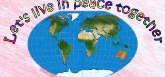 Vivamos todos juntos en paz