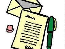 Carta al centro de 3º A