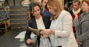 La Presidenta de la Junta visita Valverde del Camino