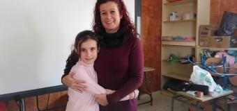Nos visita, Isabel, una mamá enfermera