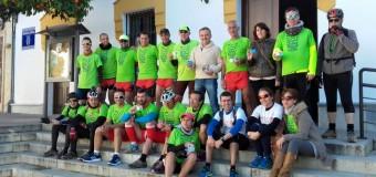 El corredor beasino Rodrigo Ruíz Bardallo ha recorrido 70 kilómetros para la donación de órganos.