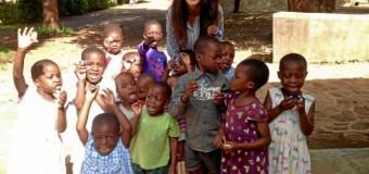 Ayer,se inaguró una exposición de fotografías sobre vivencias en Malawi.