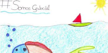 Una bonita despedida a Gabriel