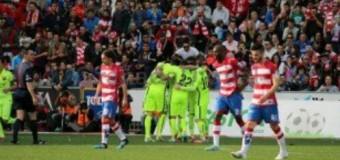 El FC Barcelona conquista la ciudad de la Alhambra