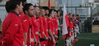 ESPAÑA VS POLONIA:FÚTBOL CON MULETAS. España gana a Polonia por 5-2.