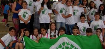 Primera Bandera Verde Ecoescuela en La Isla