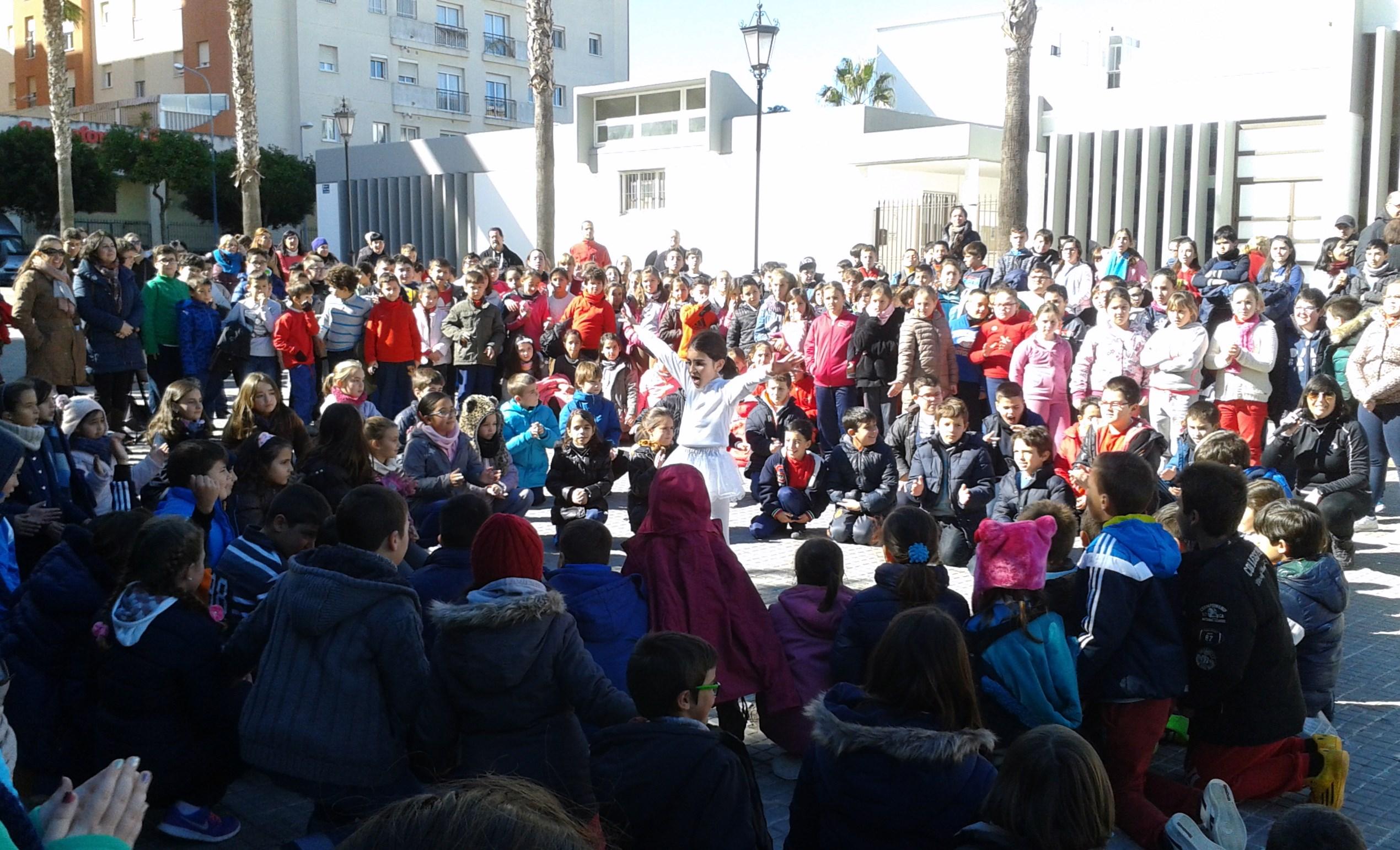 Encuentro de centros que celebran la Paz.