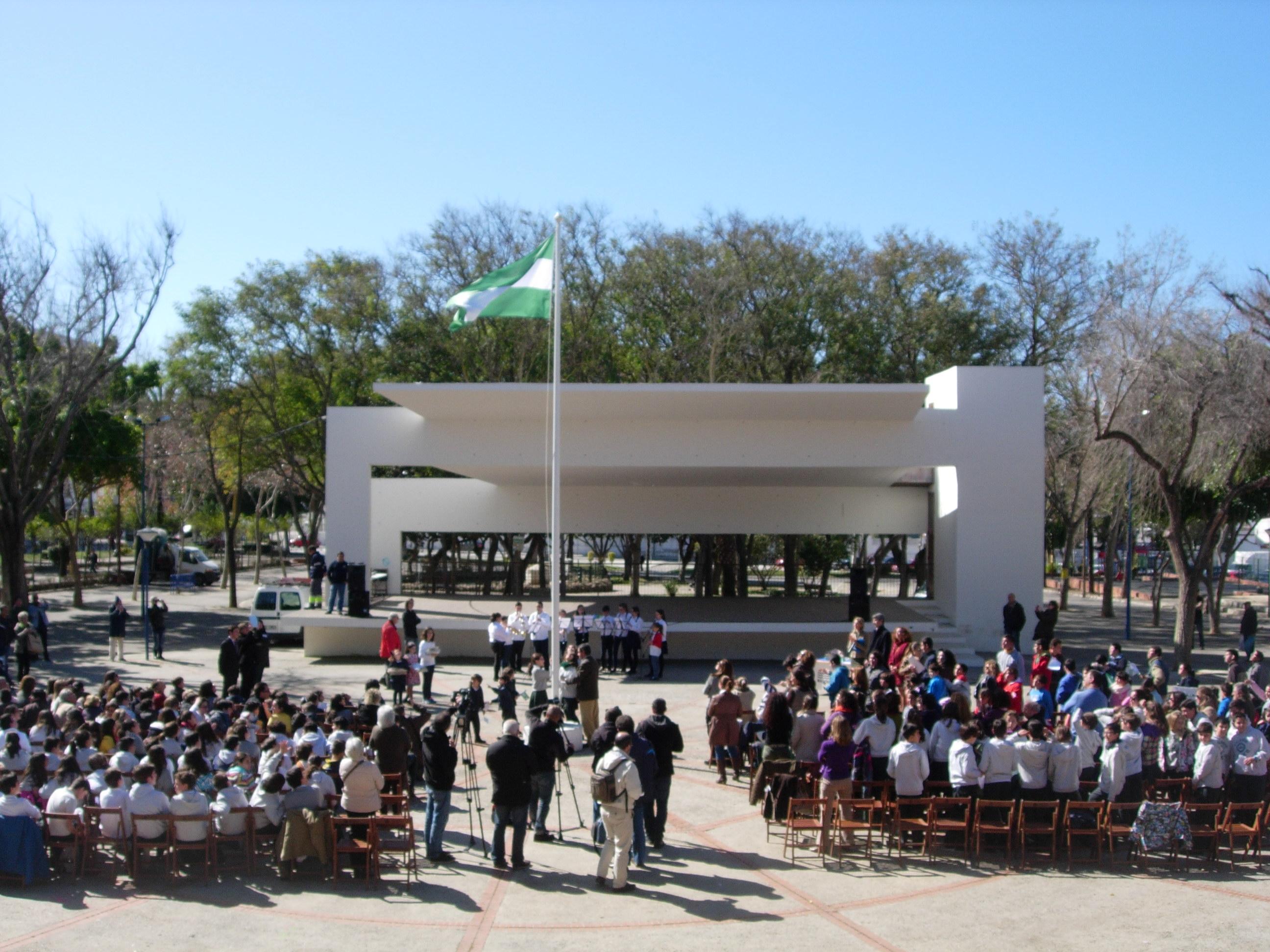 Celebración escolar del Día de Andalucía